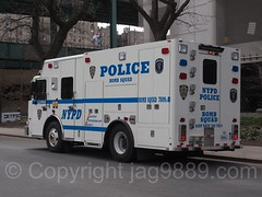 NYPD Police Bomb Squad Truck at Yankee Stadium, The Bronx, New York City (jag9889) Tags: 2017 20170415 al allamericacity americanleague ballpark baseball baseballteam bomb bombers bronx car finest firstresponder lawenforcement majorleaguebaseball ny nyyankees nyc nypd nyy newyankeestadium newyork newyorkcity newyorkcitypolicedepartment newyorkyankees outdoor patrol pinstripes policecar policedepartment policepatrolcar southbronx squad stadium thebronx thebronxbombers theyanks truck usa unitedstates unitedstatesofamerica vehicle yankeestadium yankeestadiumiii yankees jag9889
