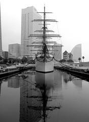 練習帆船日本丸(初代) ( Sail Training Ship NIPPON MARU ) (Mitsutoshi Kikuta) Tags: smcpfa64545mmf28 yokohama pentaxart
