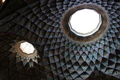 Old Bazaar (Wild Chroma) Tags: bazaar kashan ceiling iran