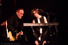 IMG_2517 (redrospective) Tags: 2017 20170316 davehause kayleighgoldsworthy london march2017 thegarage black concert concertphotography dark electricguitar gig guitar guitarist instruments keyboard live man music musicphotography musicians people spotlights woman