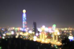 IMG_3634-3643_Overlay2 (Ethene Lin) Tags: 象山 台北101 信義區 夜景 燈海 台北市