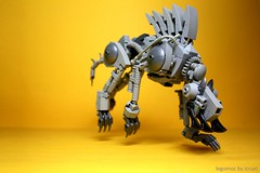 ICC Fenrir Mk1 (icycruel) Tags: lego moc mecha beast wolf fenrir outpost charlie pack hunter cyborg