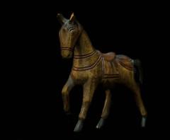 2017 Photochallenge Week 15: LOW KEY (shannon_blueswf) Tags: photochallengeorg photochallenge photochallenge2017 lowkey dark horse statue nikon nikond3300 nikonphotography light illumination
