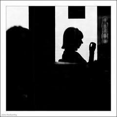 Inside The Coffee Shop 95/365 and 5/30 (John Penberthy LRPS) Tags: 365the2017edition 3652017 5apr17 d750 day95365 johnpenberthy nikon richmond blackandwhite cameo coffee coffeeshop mono monochrome