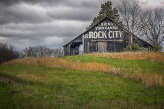 See Rock City (donnieking1811) Tags: tennessee sweetwater rockcity barn outdoors sky clouds greengrass advertising southernattraction hdr canon 60d