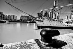 Fragata Presidente Sarmiento (pepelara56) Tags: barcos ships fragata buque dársena amarras agua ciudad puerto