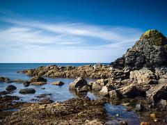 Volcanic (stephen cosh) Tags: ayrshire dunure hasselbladx1d landscape longexposure mediumformat scotland seascape stephencosh xcd45mm
