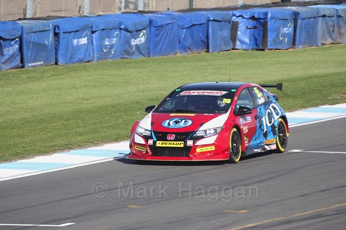 Jeff Smith during qualifying during the BTCC Weekend at Donington Park 2017: Saturday, 15th April