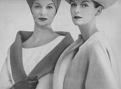 Ben Zuckerman 1956 (barbiescanner) Tags: vintage retro fashion vintagefashion 50s 50sfashion vogue vintagevogue vintageads erwinblumenfeld annestmarie sunnyharnett