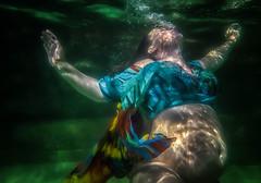 Great Eggspectations (rosiebondi) Tags: easter underwater portrait people pool water australia