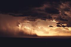 Valle de Tormentas (JavierAndrés) Tags: tormenta storm lluvia rain viento wind atardecer sunset valle valley vista view landscape paisaje nubes clouds nublado cloudy luz light sombra shadow agua water lluvioso rainy verano summer estación season crop navidad christmas carpintería sanluis argentina nikon nikkor d800 50mm clima weather polvo dust