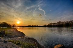 Just after Sunrise at the Illinois (kendoman26) Tags: sunrise sky illinoisriver strattonstatepark enjoyillinois travelillinois nikon nikond7100 hdr nikhdrefexpro2 tokinaatx1228prodx tokina tokina1228