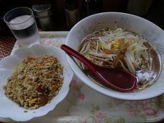 20170418 昼食 (kenchinn) Tags: 麺 ラーメン チャーハン