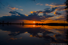 Sunset (Design-photo.cz) Tags: sunset sky d750 nikond750 cloud color clouds nature reflection mirror