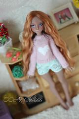 IMG_5685 (Cleo6666) Tags: lana lillycat cerisedolls marron glacé bjd doll chibbi