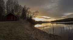 Sunset at the river #nature #sweden #sunset #river (anderswiik2) Tags: river sunset sweden nature