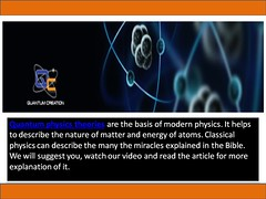 Learn about god's creation of the world (quantumcreationministries1) Tags: quantumcreation quantumtheoryinphysics quantumphysics creationofworld quantumphysicsandmechanics creationoftheworld quantumphysicstheories quantumphysicsmechanics physicsquantumtheory quantumtheoryphysics