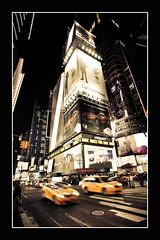 Cab race (Markus Messner) Tags: world america north usa newyork nyc travel city bigapple manhattan midtown yellow cab night race car commercial famous symbol canon eos dslr fullframe 5dmarkii welt amerika nordamerika vereinigtestaaten reise ostküste metropole stadt taxi rennen reklame werbung nacht berühmt spiegelreflex vollformat 141 141pictures markusmessner