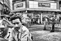 IMG_7455 (dr.subhadeep mondal's photography) Tags: streetphotography street streetportrait kolkata india calcutta urban life people everyday city canon blackandwhite monochrome subhadeepmondalphotography
