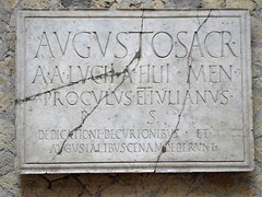007 College (Hall) of the Augustals, Herculaneum (1) (tobeytravels) Tags: herculaneum collegeoftheaugustals hall