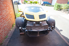 ZF2Y6470.jpg (Adam the ribless) Tags: repair racecar removal vx220 elise lotus ly36 sun clam fiberglass british vauxhall sportscar servicing radiator performance racing