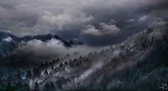 ~~~ a nasty day in the mountains ~~~ (jmb_germany) Tags:
