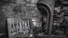 In loving memory ....XX (Einir Wyn Leigh) Tags: blackandwhite monochrome mono quarry history pride love etching wales dinorwig cymru bnw family industry memory lens camera historic grey contrast