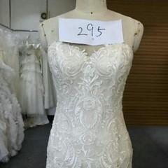 Strapless Embroidered Bridal Dress by Darius Bridal at DariusCordell .com ⠀ ⠀ #weddingdress #lace #embroidery #weddingdress #fancy #bride #bridal #love #nice #cool #instabride #instawedding #instalove #instalike #usa #america #texas #dallas #blackdesigner