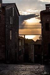 Monte del Lago (--marcello--) Tags: montedellago lago trasimeno tramonto sunset city street streetphotography urban umbria italy
