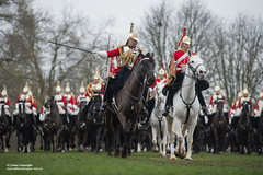 QUEENS CAVALRY READY FOR SUMMER OF CEREMONIAL (Defence Images) Tags: ceremonial occasion horse animal soldiers identifiable personnel helmet headwear plumedhelmet jackboots breastplate silvercuirasses army regiments thehouseholdcavalry thehouseholdcavalrymountedregiment hcmrd location london equipment clothing defence defense uk british military londondistrict unitedkingdom gbr