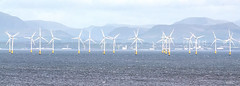Windy Solway (Rob McC) Tags: masts mast maritime coastal coast dumfriesandgalloway infrastructure solway greeninfrastructure greenpower greenenergy wind windturbine windturbines windfarm turbines blades lakedistrict landscape seascape energygeneration windpower mountains hazy softlight