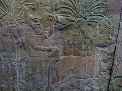 (E. Krall) Tags: street city uk england urban london art history walls britishmuseum assyria nimrud