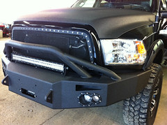 2012 Ram 2500 HD (Custom Truck Parts) Tags: truck bumper dodge ram lifts linex lightbar rigid truckaccessories