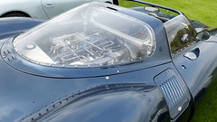 The engine of the Jaguar XJ13 (Kathryn Dobson) Tags: cars car kent automobile jaguar leedscastle supercar motoring xj13 supercarsiege
