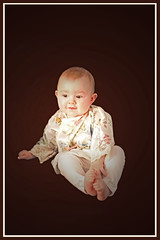 (Zhe Stacie Marie) Tags: portrait baby fashion photographer designer lace silk style seamstress couture mothermade