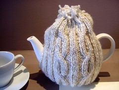 Classic Tea Cosy (Tony Worrall) Tags: light english wool shop knitting tea drink patterns north made cover covered bakery cumbria teapot cumberland cosy woolen broughtoninfurness 2013tonyworrall broughtonvillagebakery