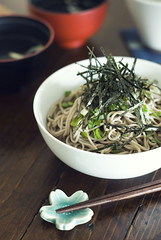 (colors lover) Tags: cold japanese sunday soba noodle  buckwheat greenonion quaileggs happyfathersday