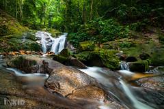 Batu Hampar Waterfall (inkid) Tags: forest landscape waterfall long exposure slow angle wide super tokina shuttle serdang ultra 17mm dpswater