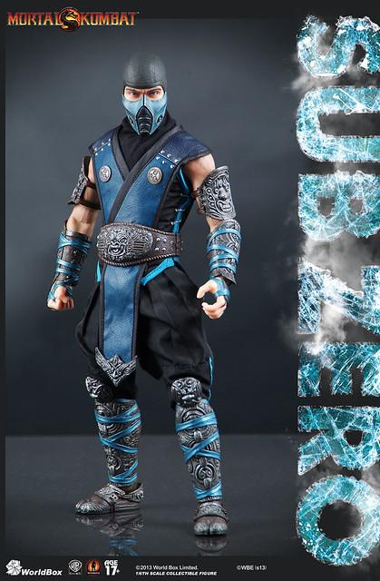 WorldBox絕對神作!Mortal Kombat SUB ZERO 1/6比例人偶登場!