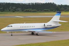 N784BX Falcon 2000 (GSairpics) Tags: scotland airport edinburgh 2000 aircraft jet aeroplane business falcon biz executive edi lothian exec bizjet egph falcon2000 f2th n784bx