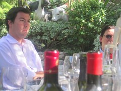 Jean Charles Cazes Lynch Bages at Lunch