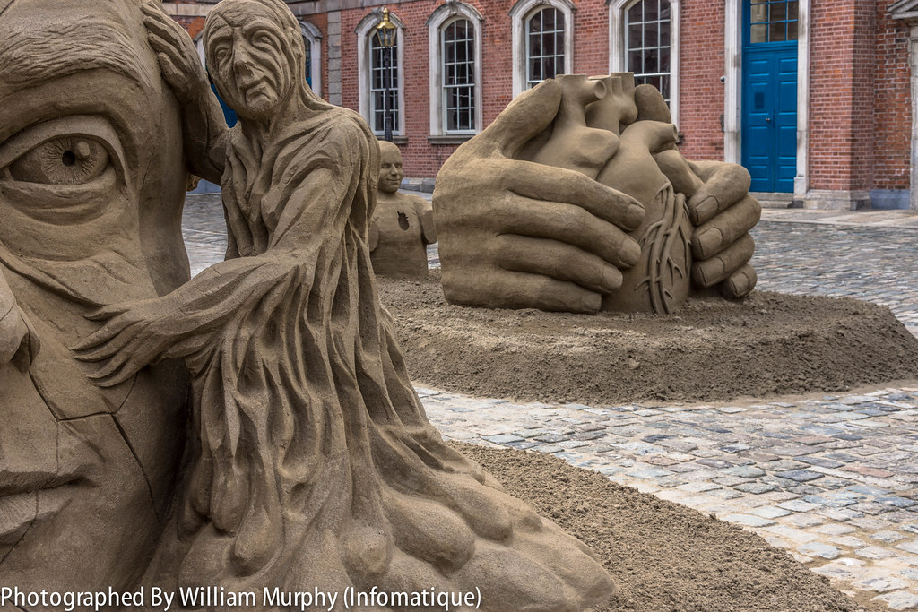 Sand Sculptures at Dublin Castle 2013 - Photographed By William Murphy