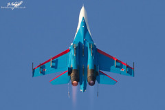 "Sukhoi Su-27S Flanker 08 BLUE - The Russian Knights / ""Русские Витязи"" - Kecskemét International Airshow 2013 (BenSMontgomery) Tags: blue hungary force air airshow international knights bbc russian magyar 08 the sukhoi su27 flanker kecskemet 2013 russkiye русские vityazi poccn витязи su27s"