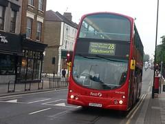 First London Wright Eclipse Gemini bodied Volvo B7TL (VNW32495 - LK54 FLA) 28 (London Bus Breh) Tags: bus london buses volvo first queenspark wright tfl londonbuses transportforlondon route28 firstbus firstgroup wrightbus firstlondon kensaltown volvobus volvob7tl vnw wrighteclipsegemini wrightgroup lk54fla 54reg thewrightgroup vnw32495