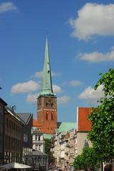 Jakobikirche, Lbeck (Forest Pines) Tags: church germany deutschland kirche spire lbeck schleswigholstein jakobikirche