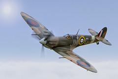 Spitfire - BM597 - JH - C (mark_rutley) Tags: aircraft airshow spitfire airforce raf airdisplay shorehamairshow2013