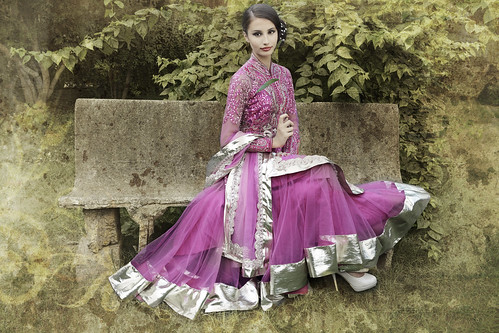 Indian Bridal Wear - Fashion  - Klaudia Malkova