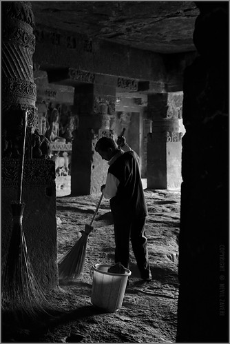 sweeping, ellora
