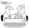 Funny cartoon about hiring (CreditLoan.com) Tags: jobs lol cartoon jokes laugh