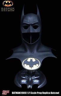 經典名作降臨!蝙蝠俠(1989) 1:1 面具 複製品